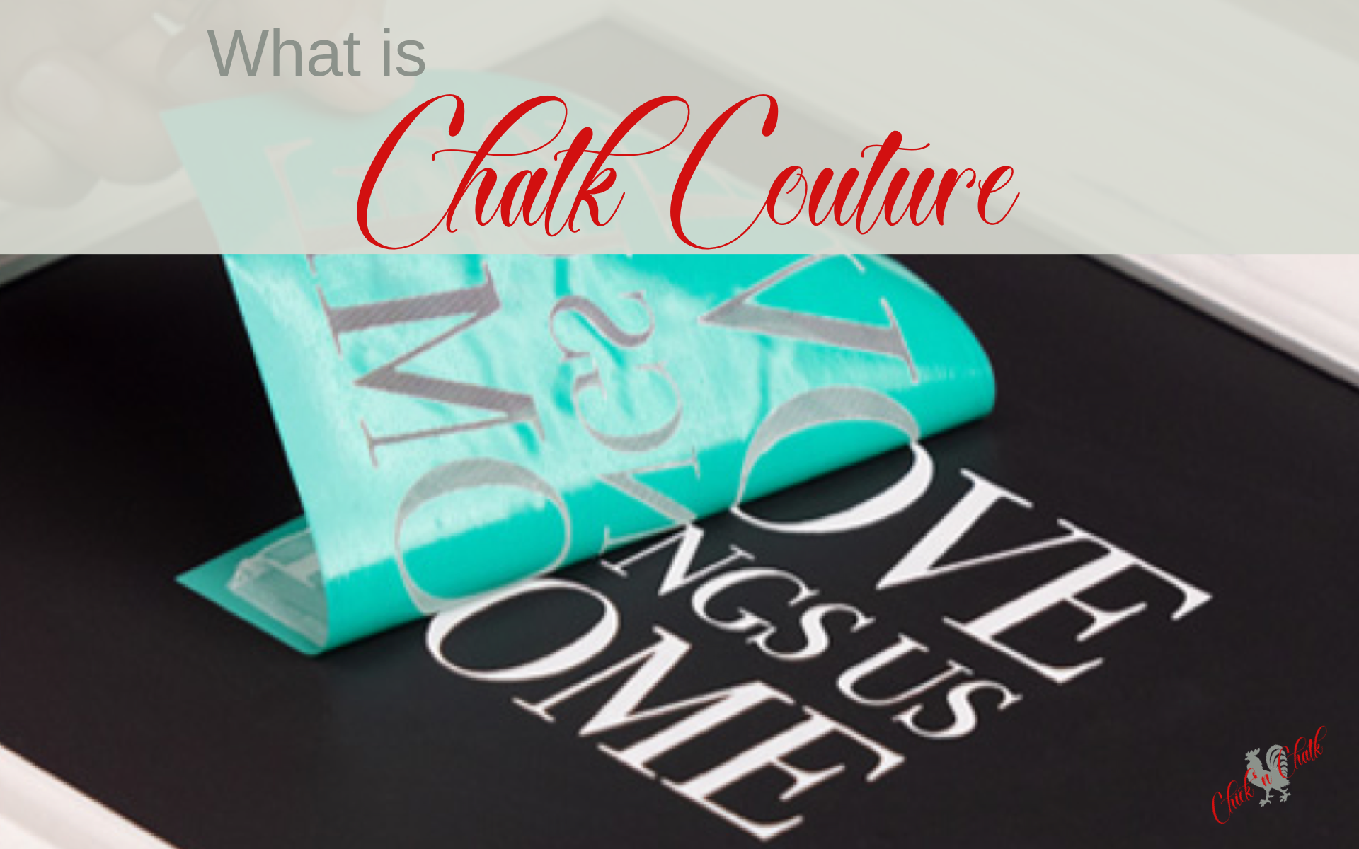 What is chalk couture