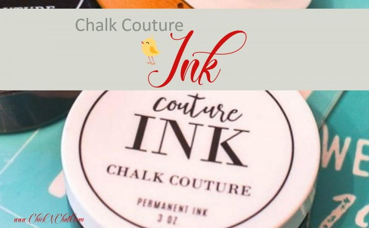 Chalk Couture Ink in Canada