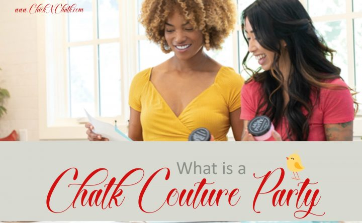 What is a Chalk Couture party