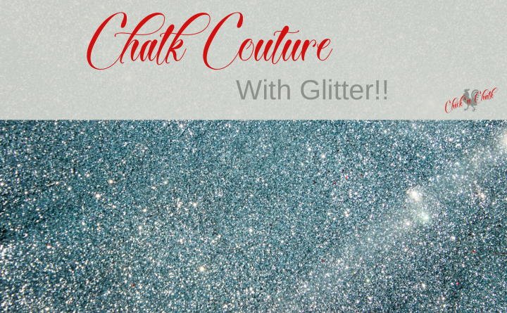 Chalk Couture with Glitter, Effortlessly!! 1