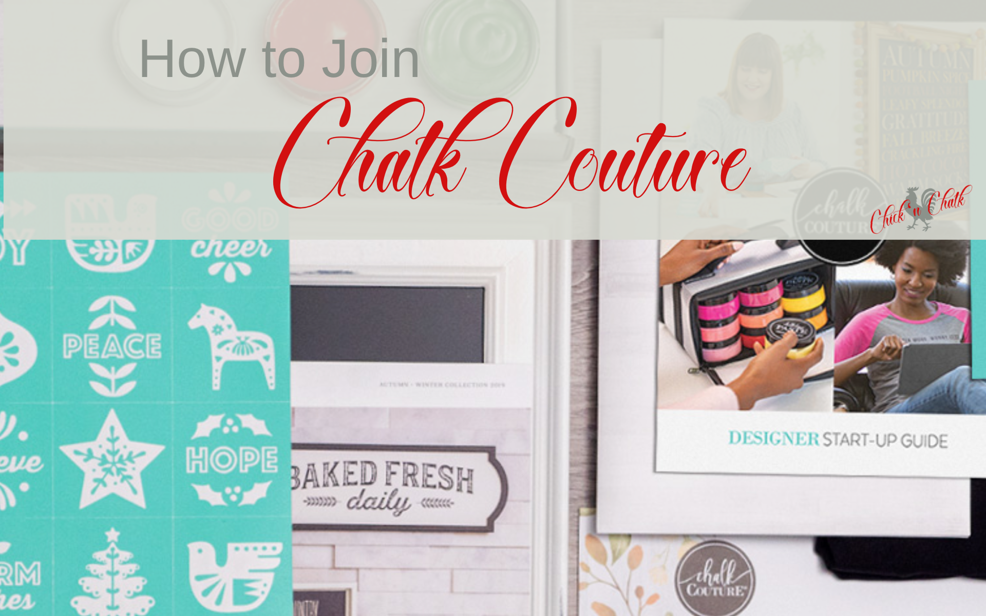 Become a chalk couture designer