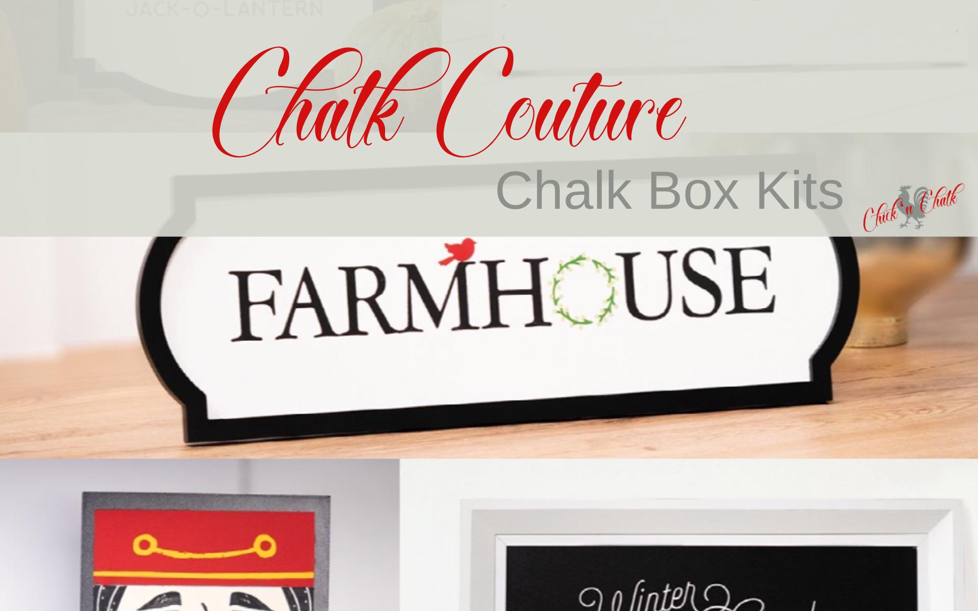 Chalk Box kit