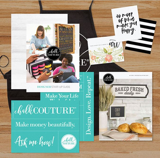 What is in the Chalk Couture Canada Starter Kits 2019? 1