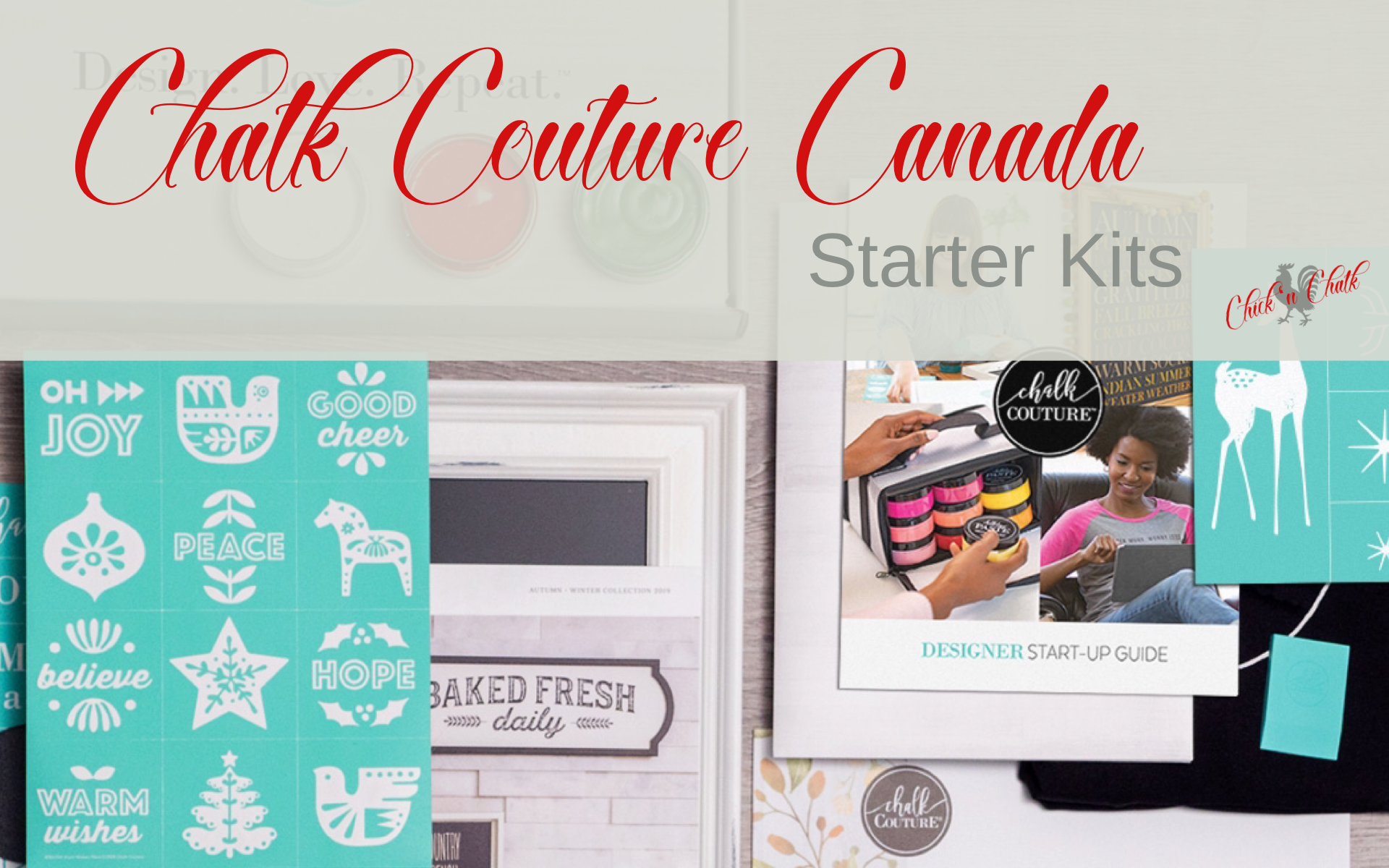 Chalk Couture Canada Starter kit