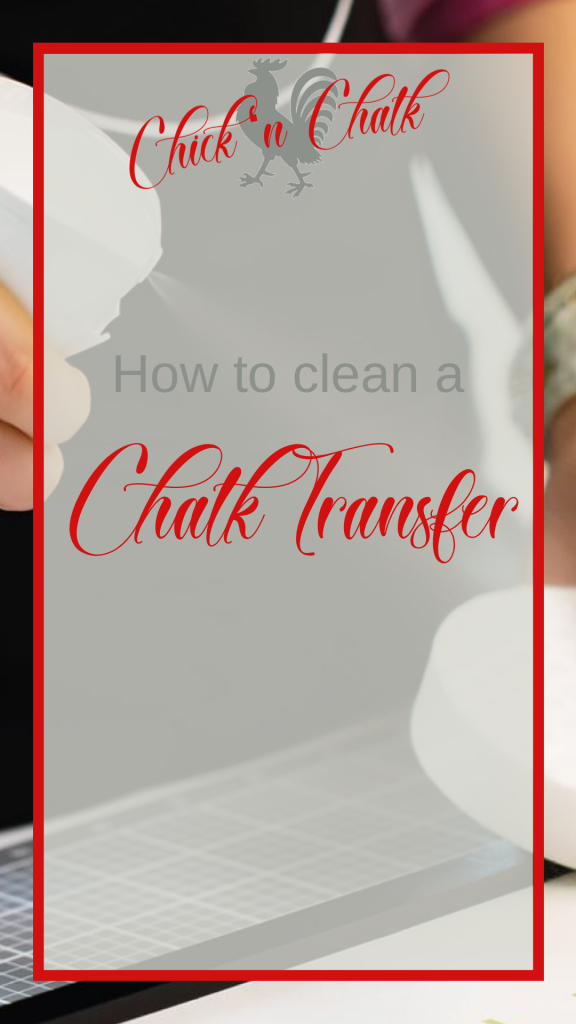 How to Best Clean Chalk Couture Transfers 1