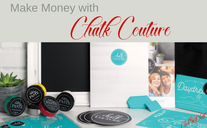 make money with chalk couture