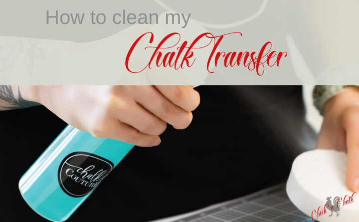 Clean chalk couture transfers