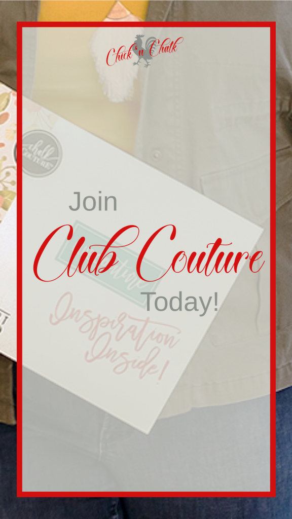 Chalk Couture Club Couture, THE Craft Subscription box for 2020 1