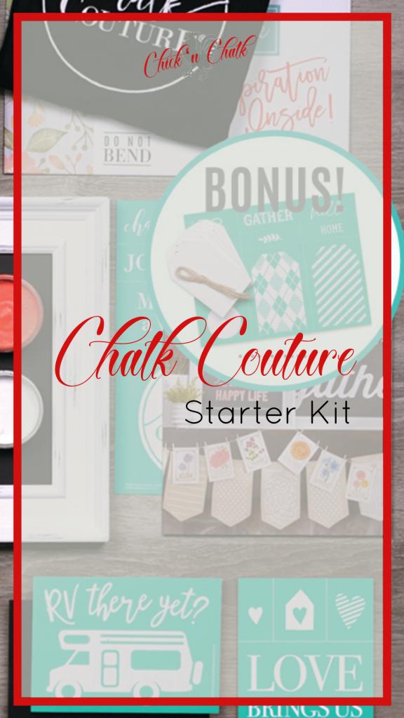 Chalk Couture starter kit