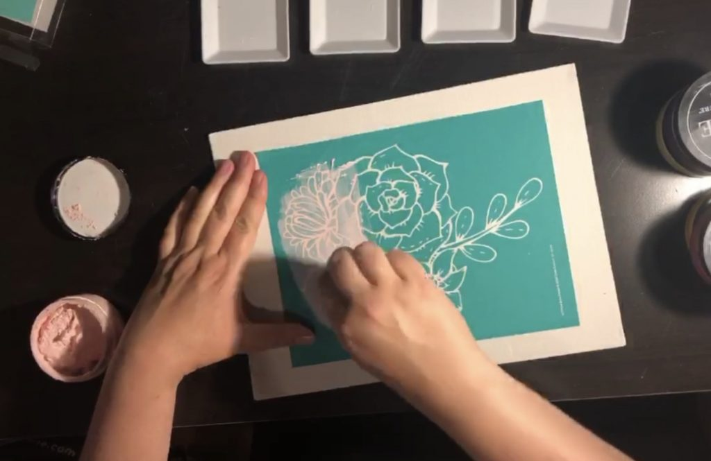 Chalk Couture Watercolour; Beautiful and Easy 3