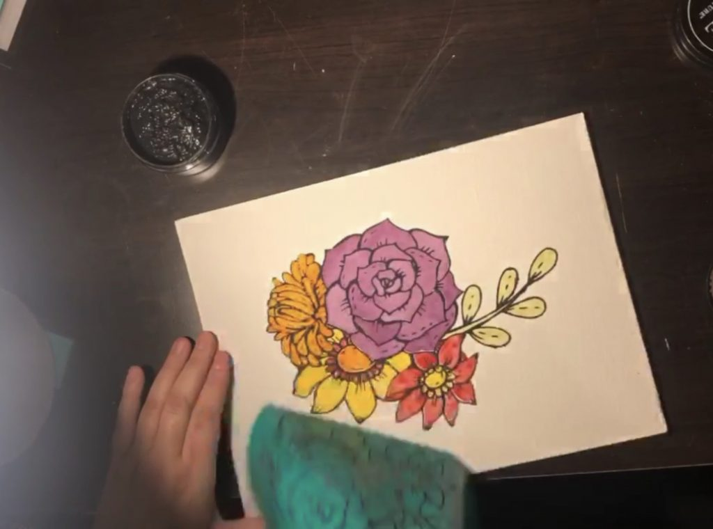 Chalk Couture Watercolour; Beautiful and Easy 7