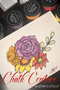 Chalk Couture watercolour