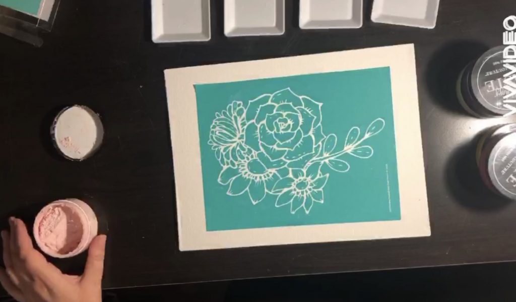 Chalk Couture Watercolour; Beautiful and Easy 2