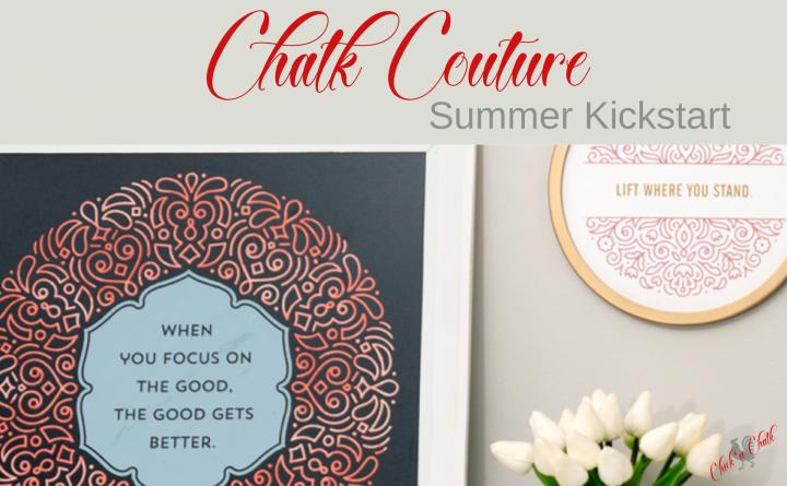 Chalk couture summer creative kickstart