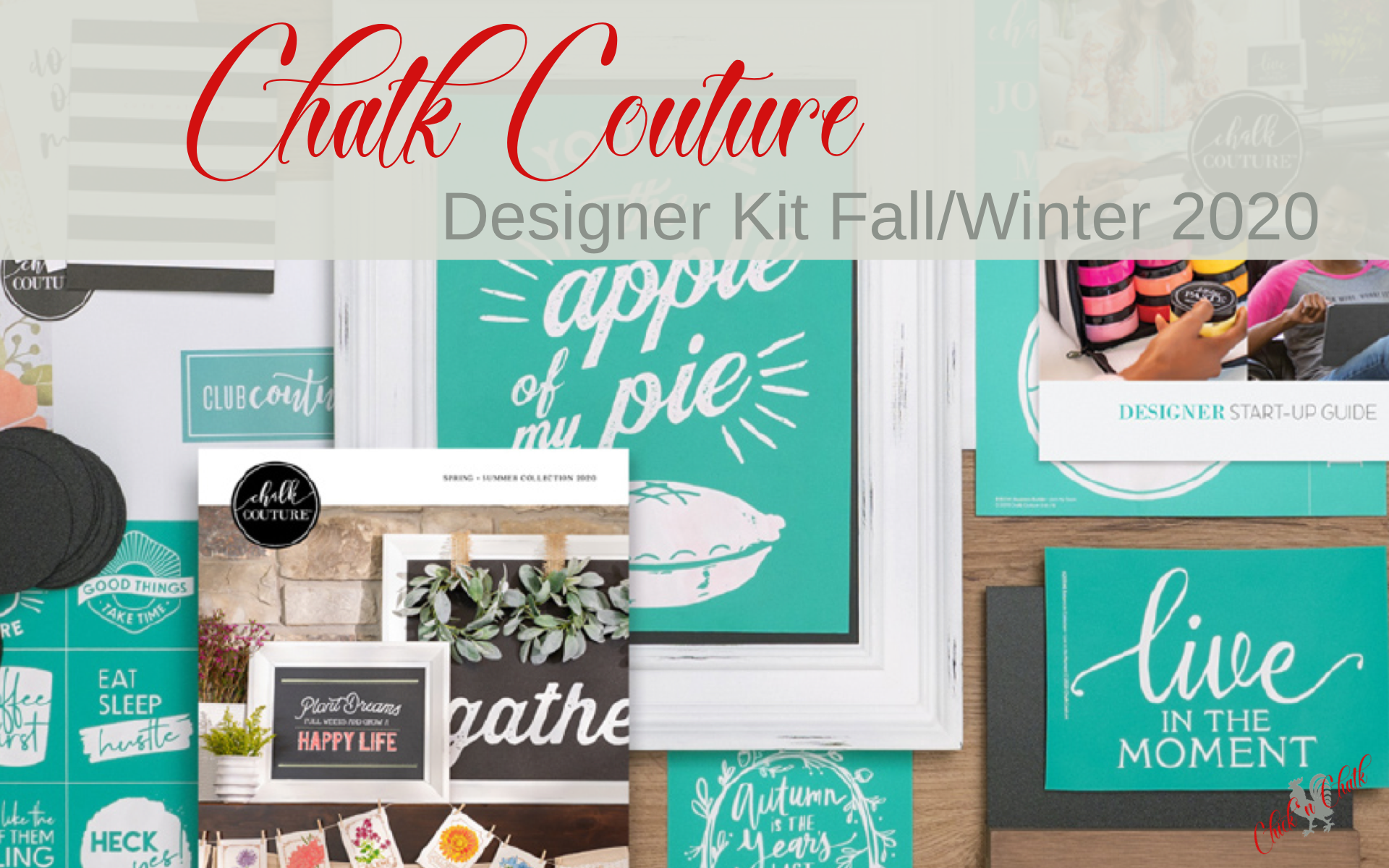 Chalk Couture Designer Kit