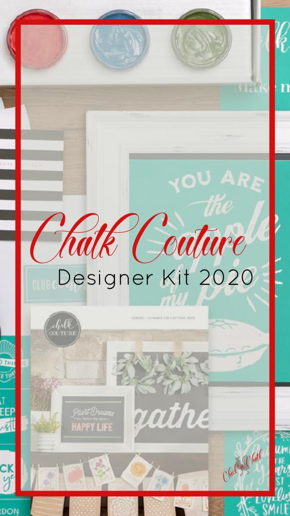 Chalk couture designer kit 2020