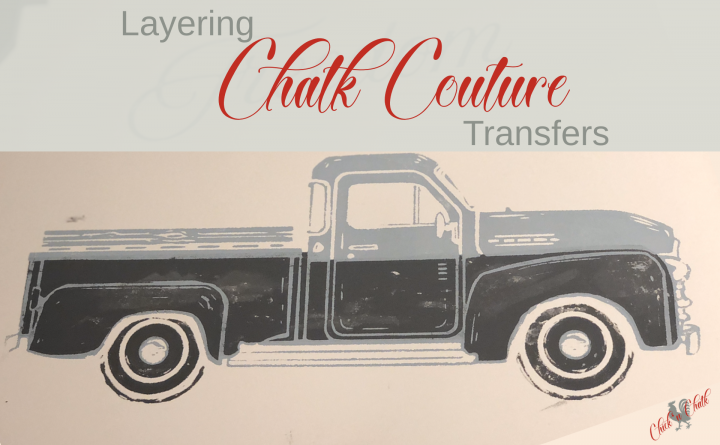Layering Chalk Couture Transfers 1