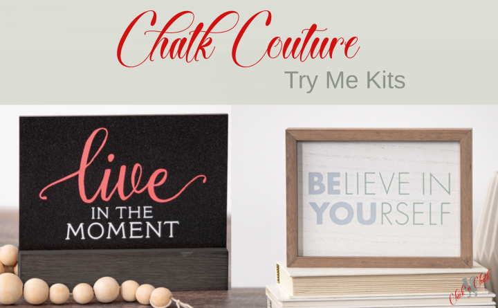 Chalk couture try me kits