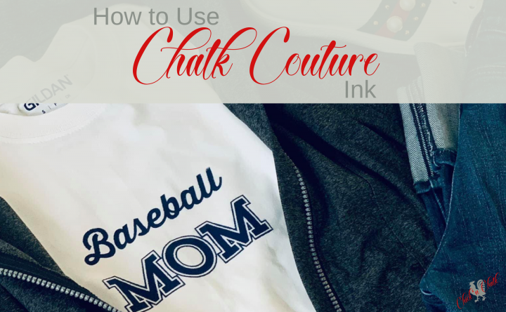 How to use Chalk Couture ink